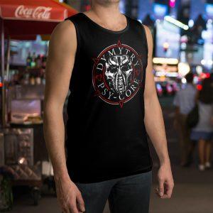 Pánské tričko bez rukávů DM3 Kruh