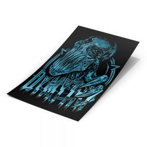 Samolepka Blue Gorgy - A6