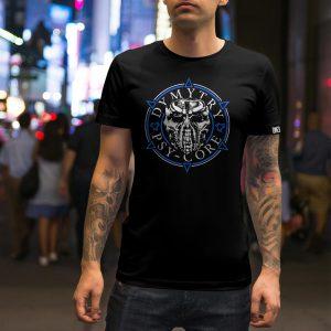 Pánské triko Modrý kruh